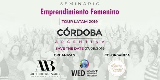 Seminario Emprendimiento Femenino TOUR LATAM 2019 Cordoba