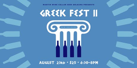 Greek Fest II: New Orleans tickets