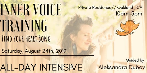 Express your Inner Voice: Day-long Intensive