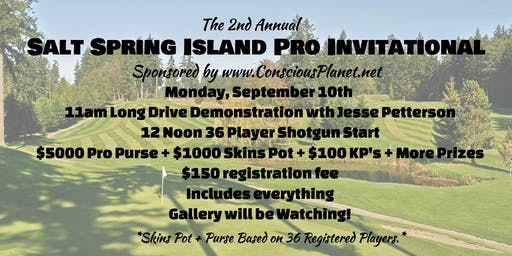 Salt Spring Invitational Pro Tournament