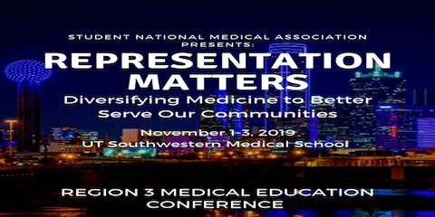 Region 3 Medical Education Conference and Leadership Institute 2019 Attendee Registration