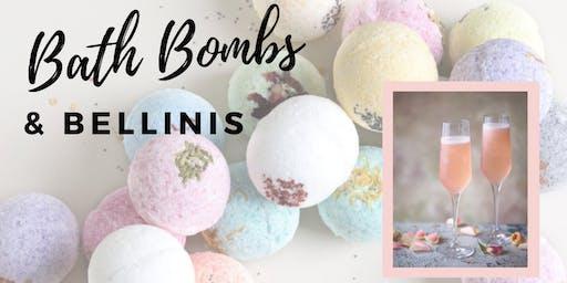 Bath Bombs & Bellinis