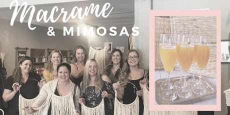 Macrame & Mimosas tickets