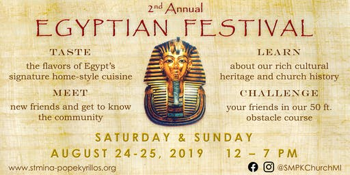 2nd Annual Egyptian Festival