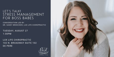 Let's Talk! Stress Management as a Boss Babe tickets