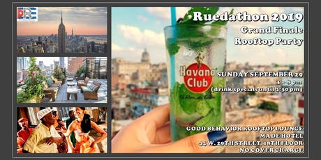 Ruedathon 2019 Grand Finale Rooftop Party tickets