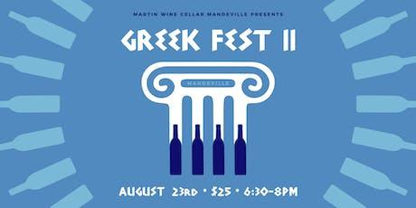 Greek Fest II: Mandeville tickets