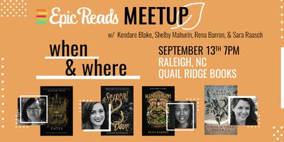 Epic Reads YA Meet Up at Quail Ridge Books
