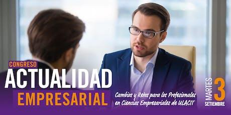 Congreso Actualidad Empresarial  tickets