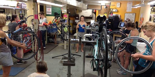 Queen City Intro Bike Maintenance Series (Class 3 of 3: How to pack your bike, Q&A session)