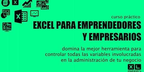 Curso Práctico - Excel para Emprendedores y Empresarios boletos
