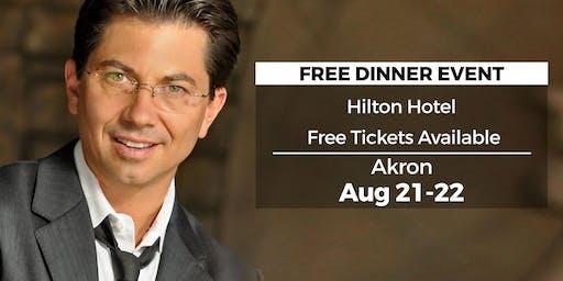 (FREE) Millionaire Success Habits revealed in Akron by Dean Graziosi