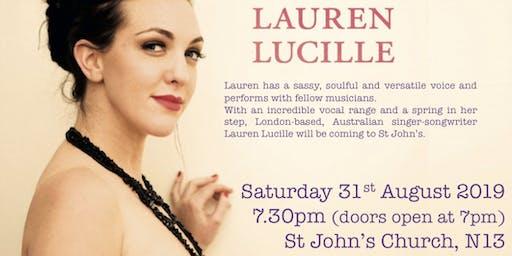 Jazz Evening with Lauren Lucille