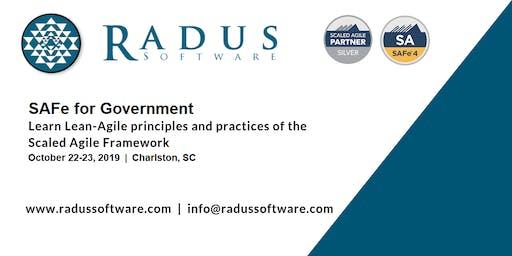 SAFe for Government - Charleston SC