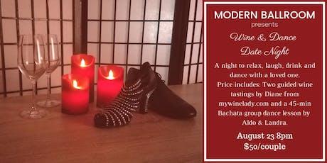Wine & Dance Date Night @ Modern Ballroom  tickets