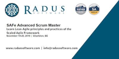 SAFe Advanced Scrum Master with SASM Certification - Charleston SC