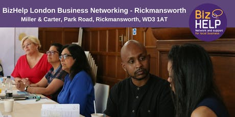 BizHelp London Business Networking - Rickmansworth tickets