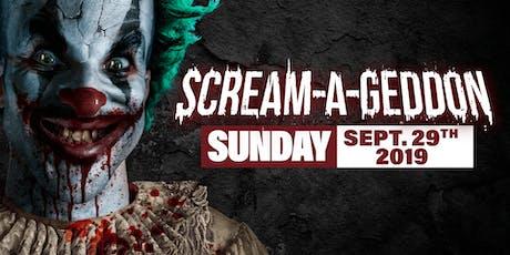 Sunday September 29th, 2019 - SCREAM-A-GEDDON tickets