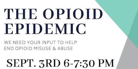 A Community Conversation-Opioids tickets