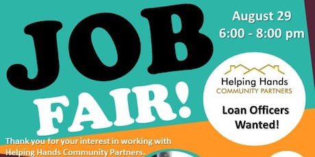 Helping Hands August Job Fair tickets