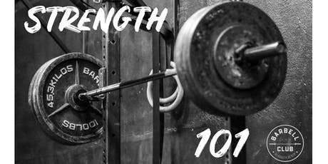 Strength 101 Seminar tickets