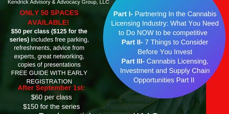 Cannabis in GA: Know to Grow (3 part series) by KAAG tickets