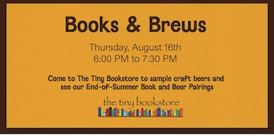 Books and Brews: Craft Beer and Book Pairings