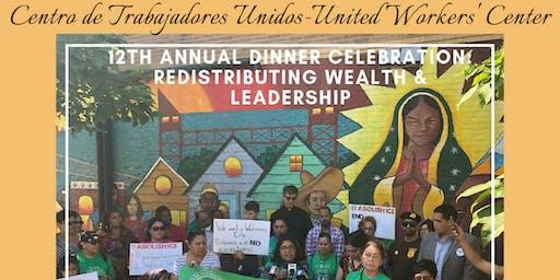 CTU's 12th Annual Dinner Celebration: Redistributing Wealth & Leadership