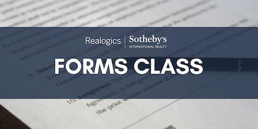 Forms Class: Misc Addenda Continued at RSIR Kirkland