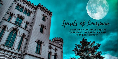 Spirits of Louisiana tickets