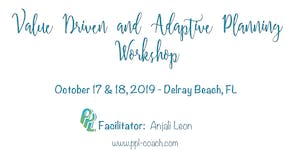Value-Driven and Adaptive Planning Workshop
