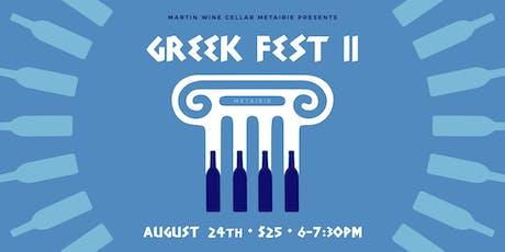 Greek Fest II: Metairie tickets