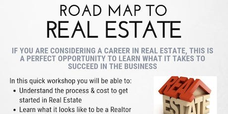 KW Realty St. Pete Real Estate Road Map tickets