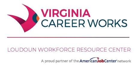 Loudoun Workforce Resource Center Job Seekers Open House tickets