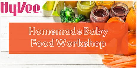 Homemade Baby Food Workshop tickets