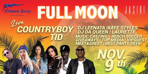KENDWA ROCK HOTEL ZANZIBAR |FULL MOON - WELCOME TO TOMORROW PARTY