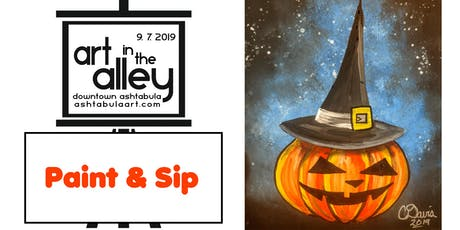 Paint & Sip @ Art in the Alley - Ashtabula tickets