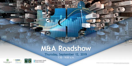 M&A Roadshow tickets