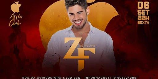Zé Felipe ao vivo - Apple Club