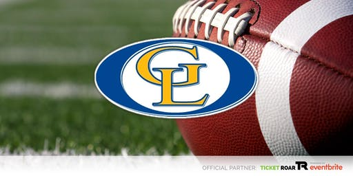 Gahanna Lincoln vs Lancaster Varsity Football