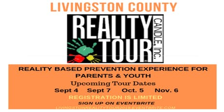 LIVINGSTON COUNTY REALITY TOUR DATES tickets