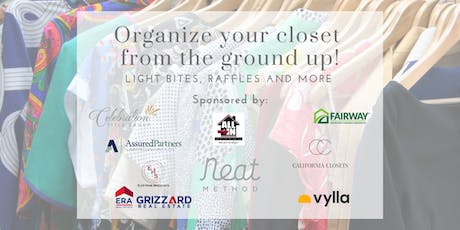 Organize Your Closet from the Ground Up! tickets
