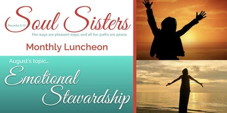 Soul Sisters, Proverbs 3:17 Monthly Luncheon tickets