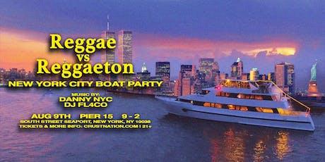 Reggae vs Reggaeton Boat Party NYC Yacht Cruise: Last Friday of Summer tickets