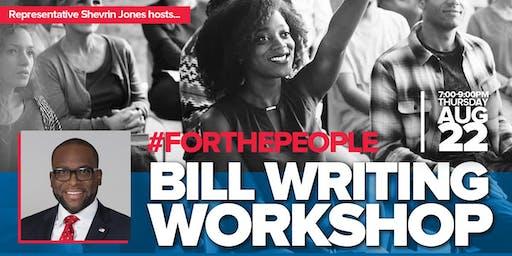 Rep. Shevrin Jones's Bill Writing Workshop