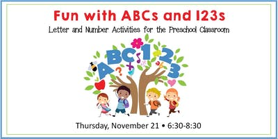 Fun With ABCs & 123s: Letter & Number Activities for Preschool