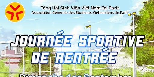 Journée Sportive AGEVP spécial foot/tennis 2019