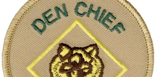 Leadership/Service Project: DEN CHIEF at Cub Scout Camp 2020