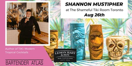 Shannon Mustipher at The Shameful Tiki Room Toronto tickets