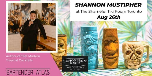Shannon Mustipher at The Shameful Tiki Room Toronto